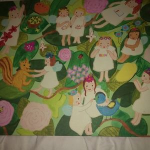 Children's Original Painting